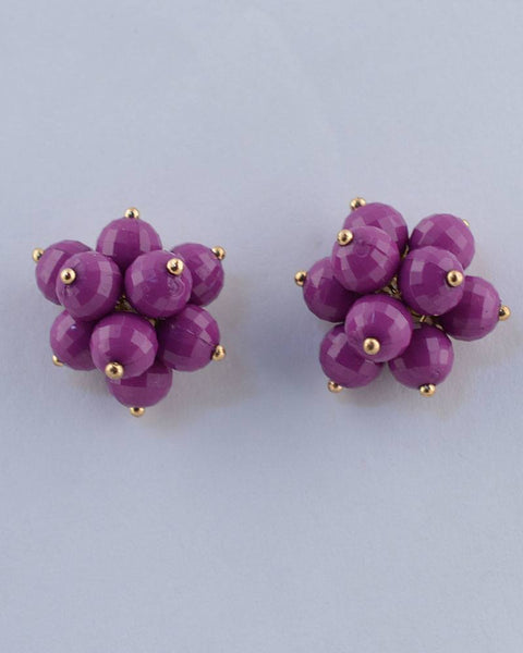 Beaded Cluster Studs - Kendalls Deals