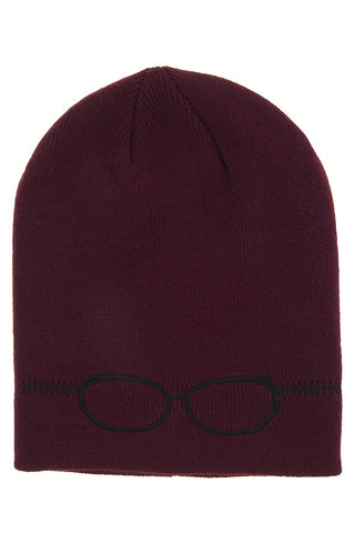 Embroidered glass beanie - Kendalls Deals