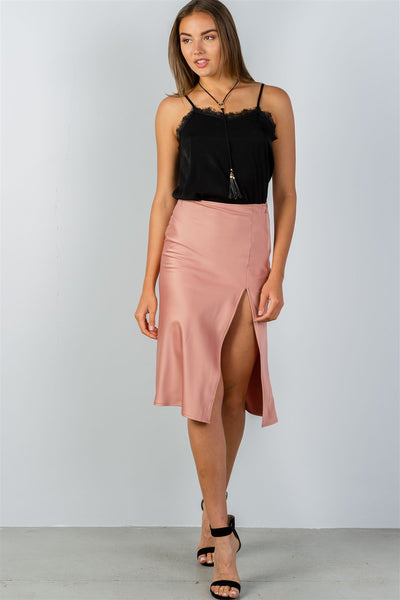 side slit midi skirt - Kendalls Deals