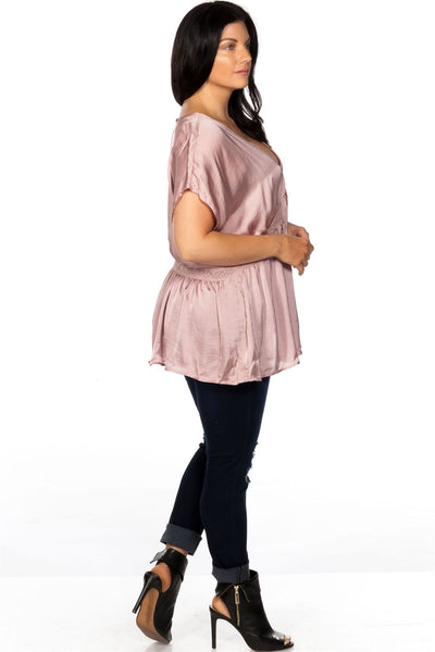 plus size satin crochet waist baby-doll to - Kendalls Deals