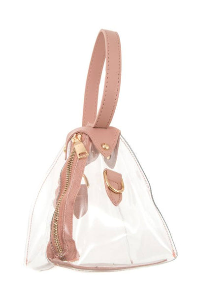 Ladies fashion triangular shape mini handbag - Kendalls Deals