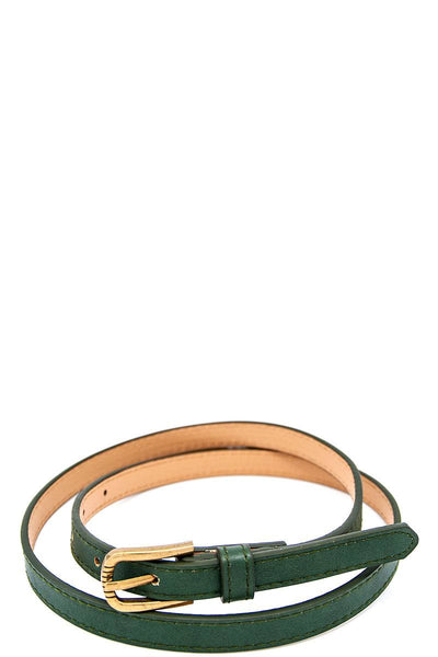 Skinny fancy color belt - Kendalls Deals