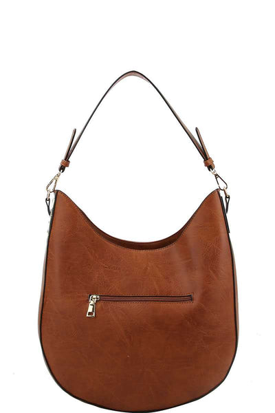 Fashion Chic Trendy Hobo Bag With Long Strap - Kendalls Deals