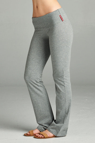 Full Length Leggings With Flare Bottom - Kendalls Deals