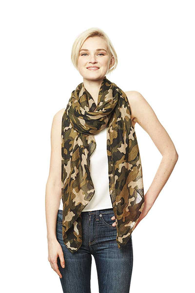 Camouflage Print Scarf - Kendalls Deals