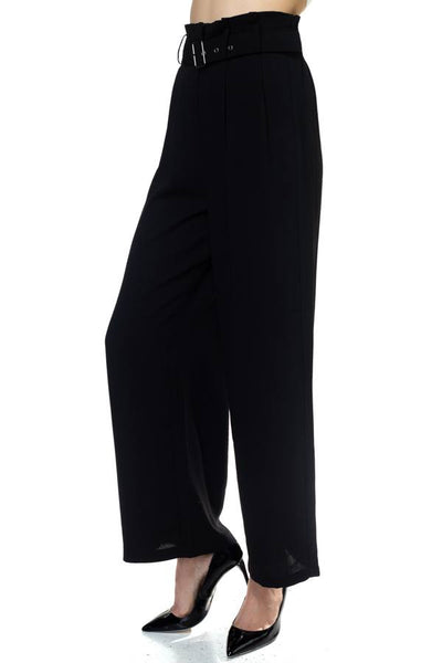 Belted Wide Leg Pants - Kendalls Deals