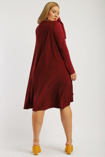 Solid, Loose Fit Dress - Kendalls Deals