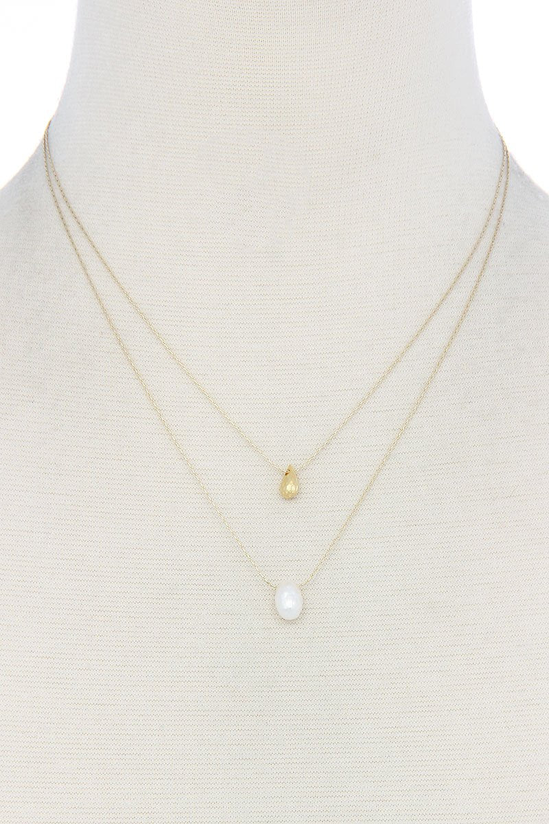 Modern Chic Double Layer Necklace - Kendalls Deals