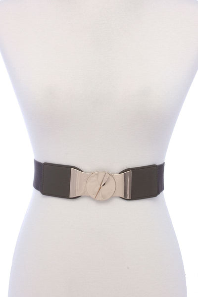 Pu Leather Elastic Belt - Kendalls Deals