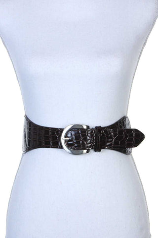 Pu Leather Stretch Belt