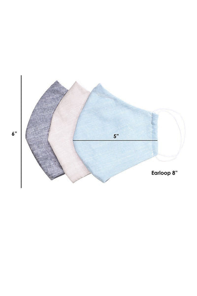Made In Usa Unisex Fashionable, Reusable Washable, Cool Breathable Fabric Face Mask - Kendalls Deals