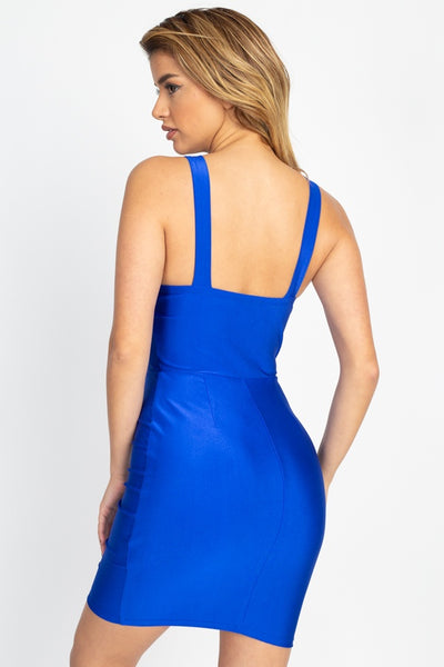 Satin Bustier Mini Dress - Kendalls Deals