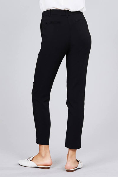 Seam Side Pocket Classic Long Pants - Kendalls Deals