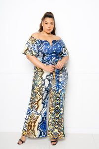Multi Snake Jumpsuit - Kendalls Deals