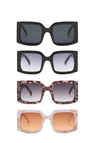 Modern Square Stylish Design Sunglasses