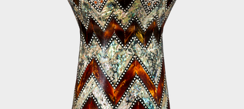 Middle Section of The Blue Pearl Wave Sombaty Darbuka / Doumbek