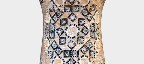 Middle Section of The Ivory Shrine Darbuka / Doumbek