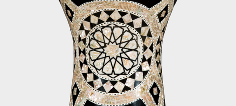 Middle Section of The Ivory Planets Darbuka / Doumbek