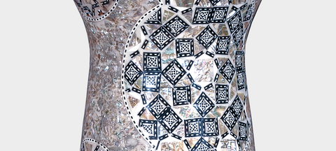 Middle Section of The Pearl Shrine Sombaty Darbuka / Doumbek