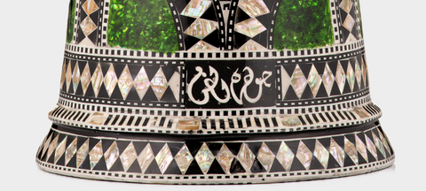 Bottom of The Emerald Orchid Darbuka / Doumbek
