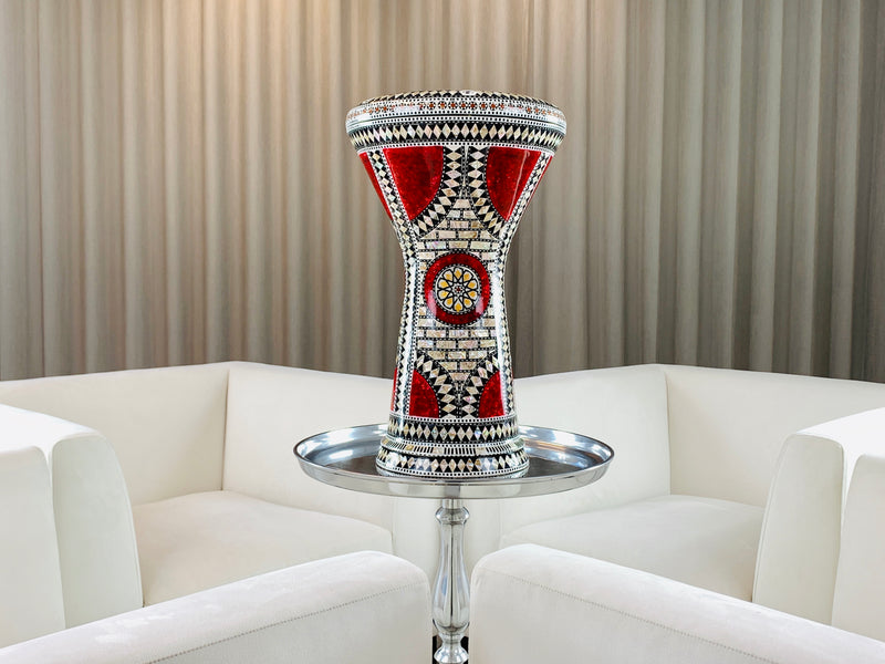 The Ruby Orchid Darbuka