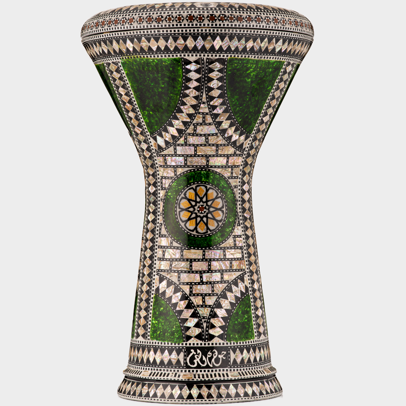 the emerald orchid darbuka