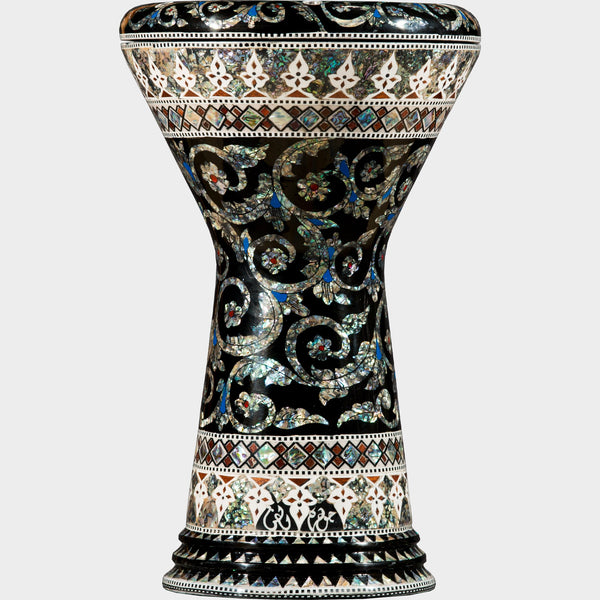 The Blue Pearl Serpent Sombaty Darbuka | Gawharet El Fan | Darbuka / Doumbek / Goblet Drum