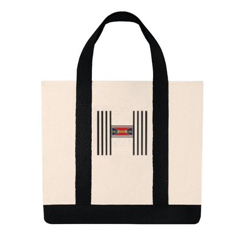 "Embroidery Weekend Tote ""H"""