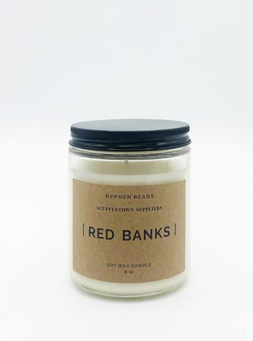 [Red Banks] Soy Candle 8 oz.