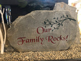 Our Family Rocks at The Rusty Stone, Hudson Ohio