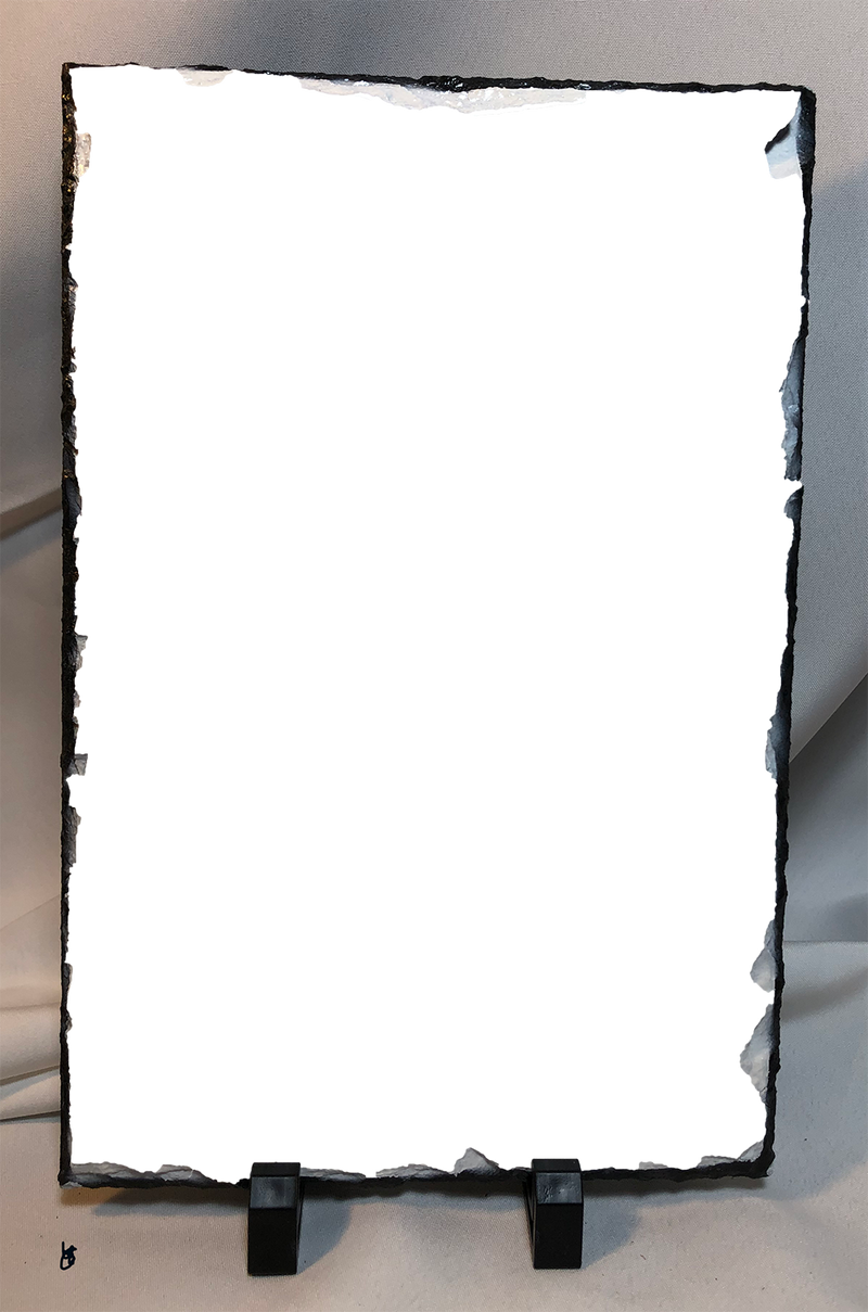 Custom vertical Photo Slate Test