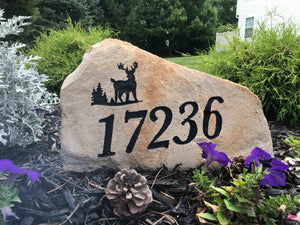 LARGE Address Marker - Free Design, Text, Graphics & Color - Free Shipping