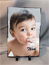 "Great Gift For Mom. Personalized Photo Slate Vertical Large 7.75"" X 11.75"""