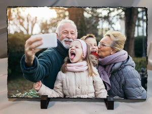 Unique Gift - Your Photo On Slate