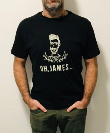 Tee!  Oh, James... Organic Cotton Logo T-Shirt