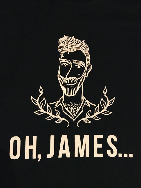 Oh, James... Organic Cotton Logo T-Shirt