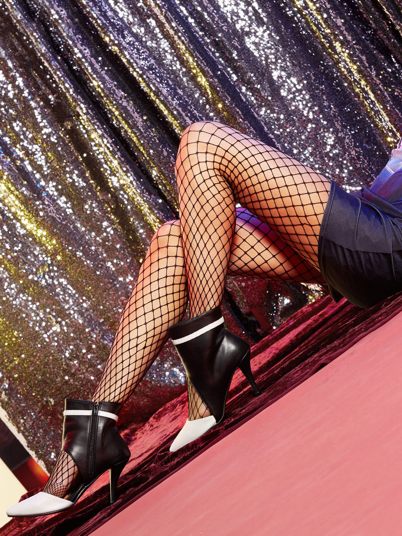 Black Fishnet Pantyhose Stockings