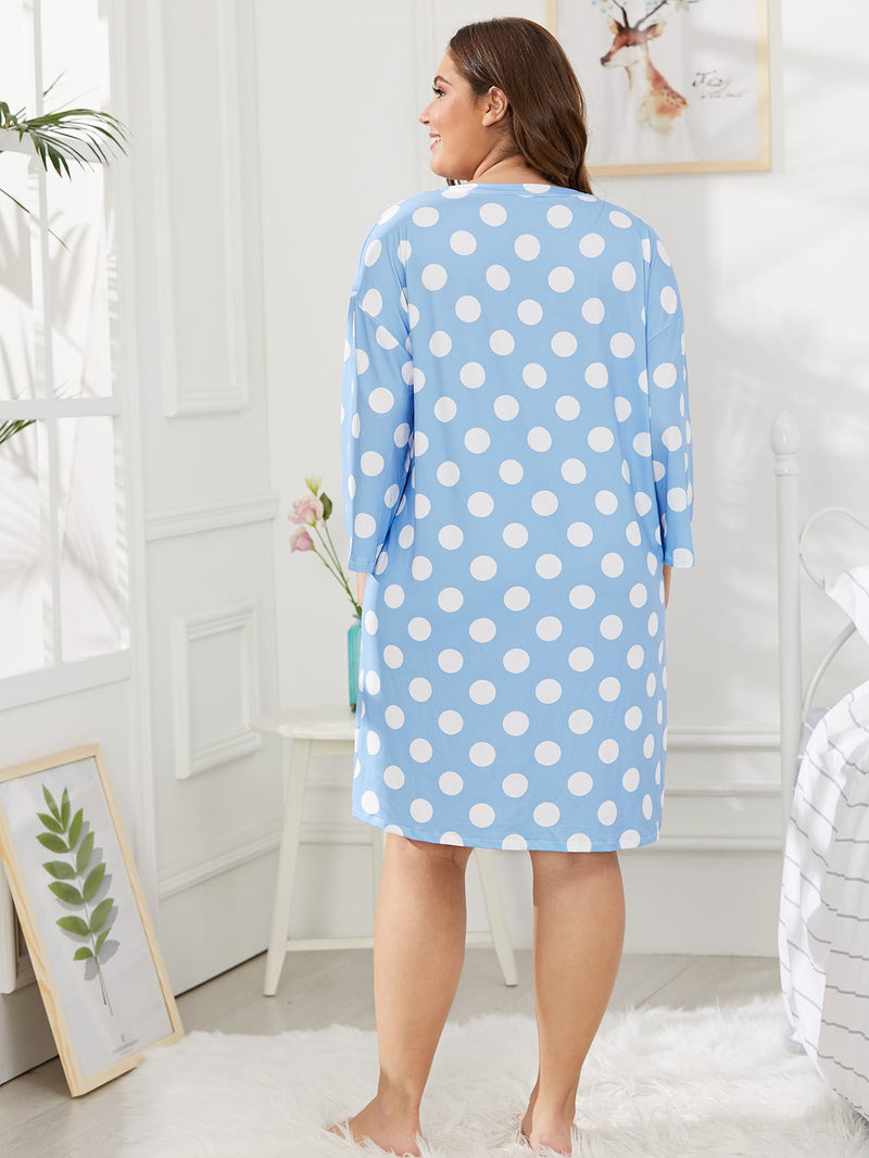 Polka Dot Night Dress