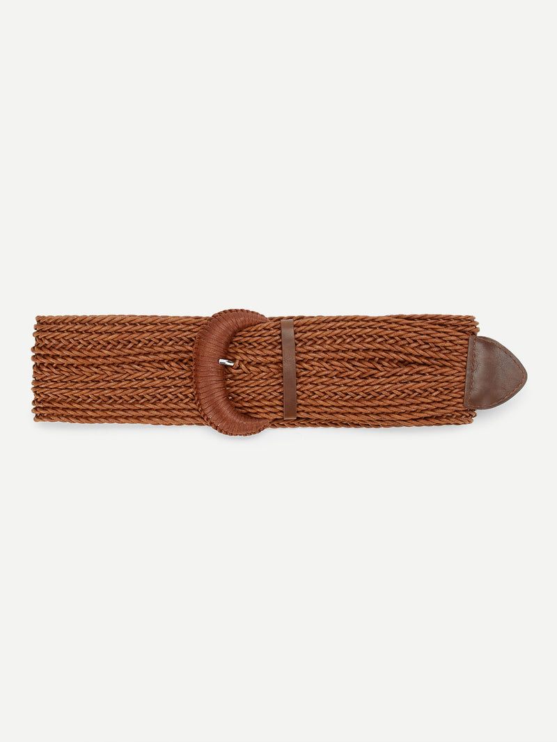 Braided Wide Belt