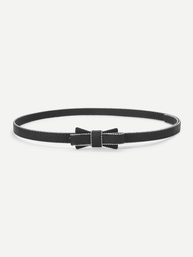 Bow Shaped Buckle Belt