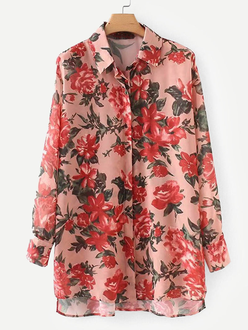 Allover Florals Shirt