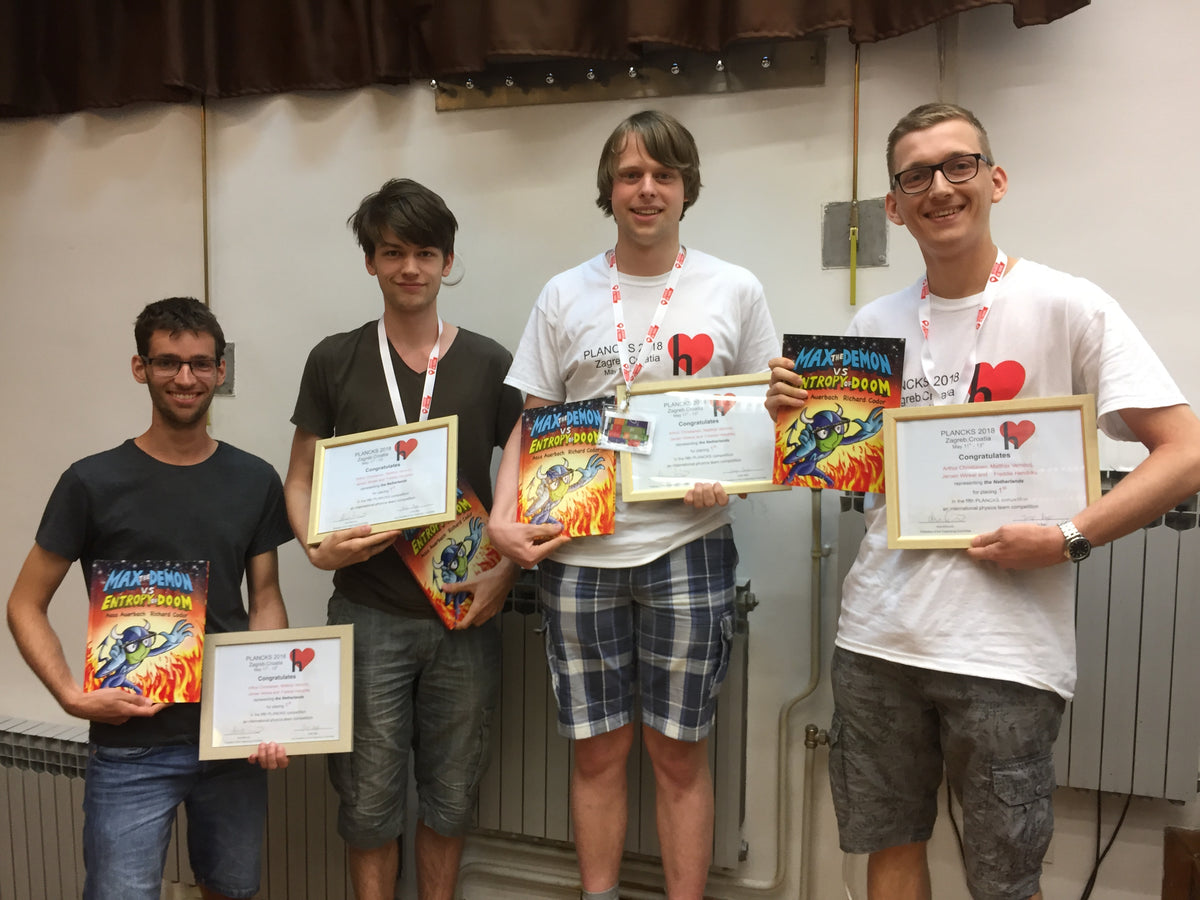Planck 2018 First-place Winners