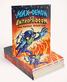 Max the Demon vs Entropy of Doom: Hard Cover