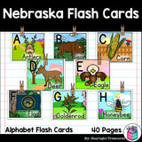 Nebraska Flash Cards