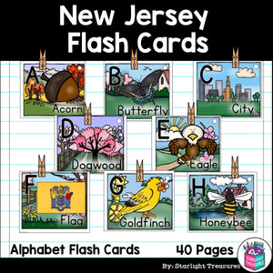 New Jersey Flash Cards