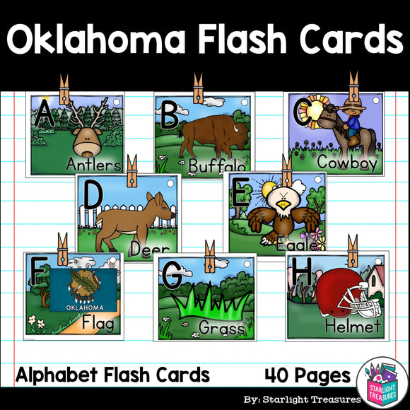Oklahoma Flash Cards