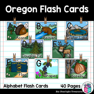 Oregon Flash Cards