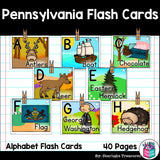 Pennsylvania Flash Cards