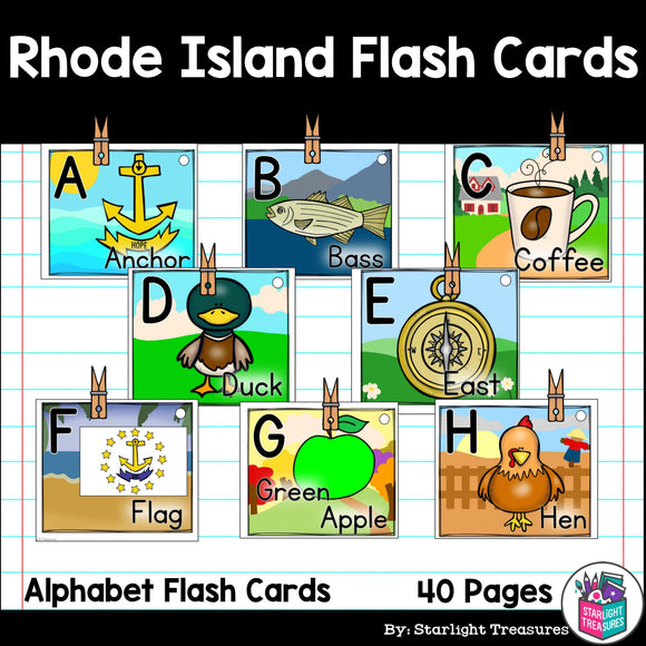 Rhode Island Flash Cards