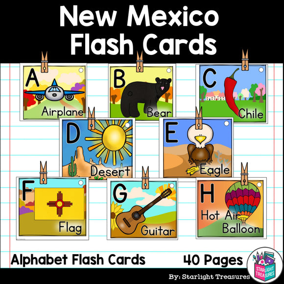 New Mexico Flash Cards